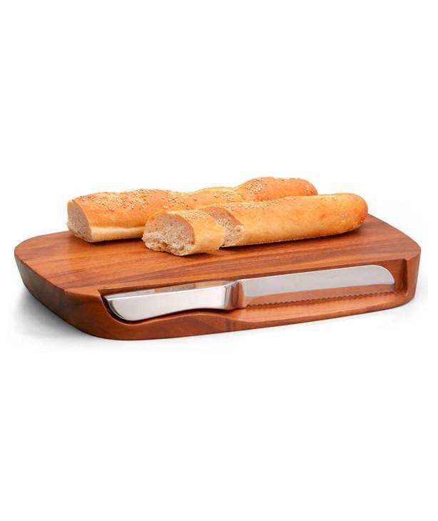 Доска для хлеба деревянная Harmony с ножом, дизайн Neil Cohen