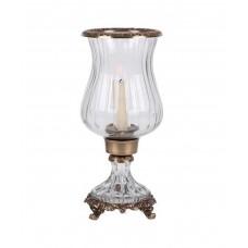 Подсвечник/ваза Hurricane, резаное стекло