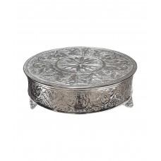 Подиум декоративный для торта или настольной декорации, чеканка ручной работы (Прокат)