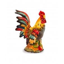 Керамическая декоративная скульптура Петух Le Coq, 290 мм
