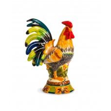 Керамическая декоративная скульптура Петух Le Coq, 260 мм