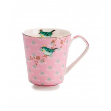 Кружка чайная 300 мл, розовая
