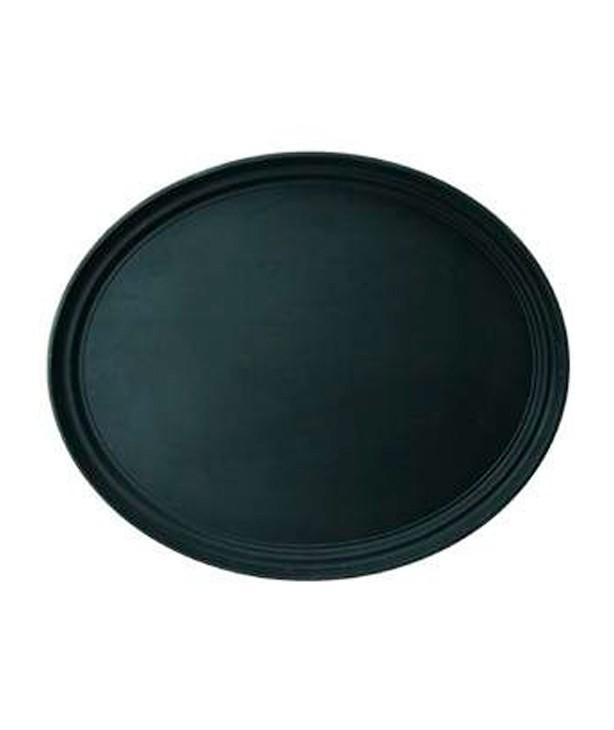 Поднос Cambro круглый, черный 350 мм