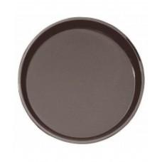 Поднос Cambro круглый, коричневый 405 мм