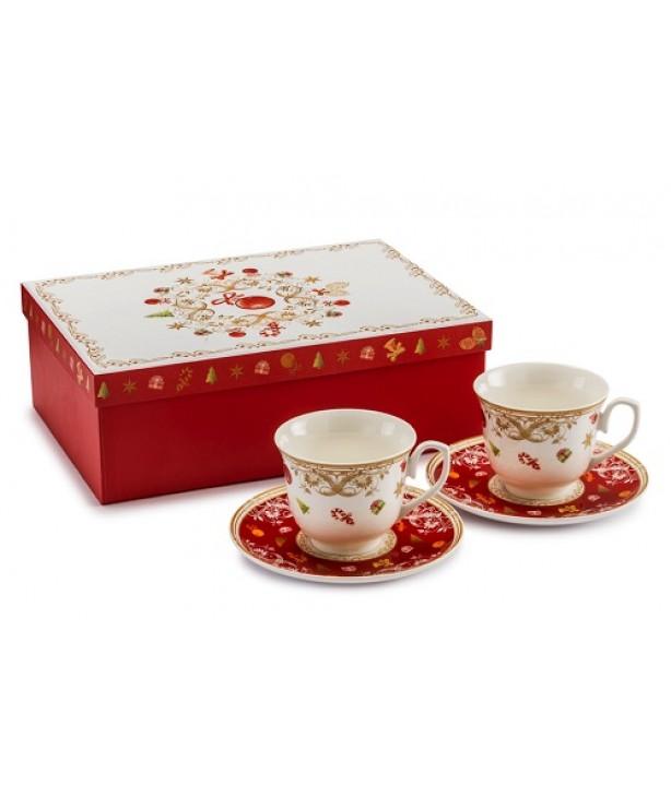 Чайный сет (чашка с блюдцем)