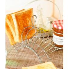 Подставка для тостов 10 мест, хром