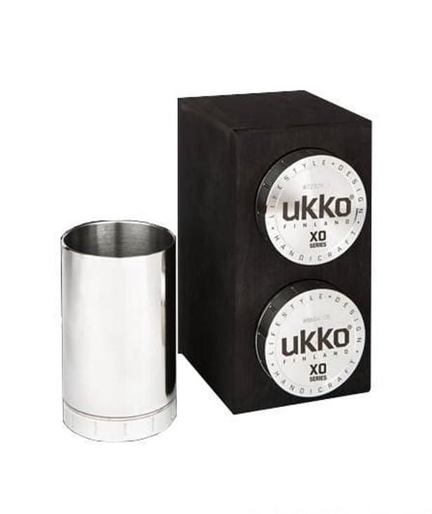 Охотничий стакан для виски 125 мл с гравировкой, набор 2 шт в подставке из березы