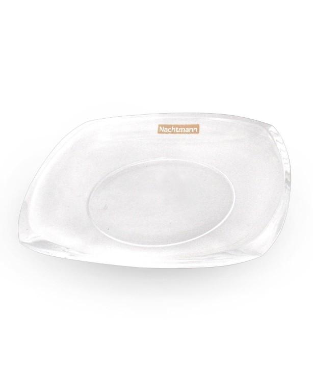 Тарелка хрустальная 21 см
