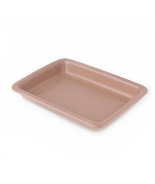 Блюдо для запекания прямоугольное 280*210 мм, благородный песок (Прокат)