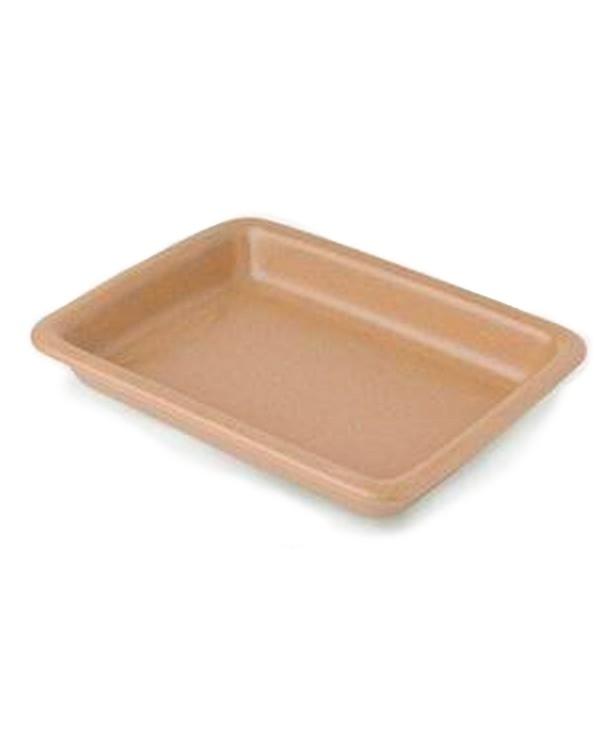 Блюдо для запекания прямоугольное 280*210 мм, песок (Прокат)