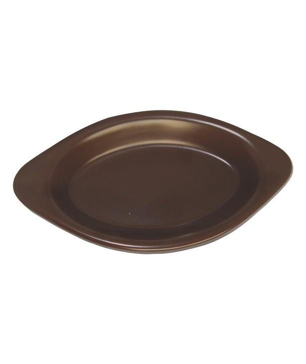 Блюдо для запекания овальное 285*150 мм, коричневое