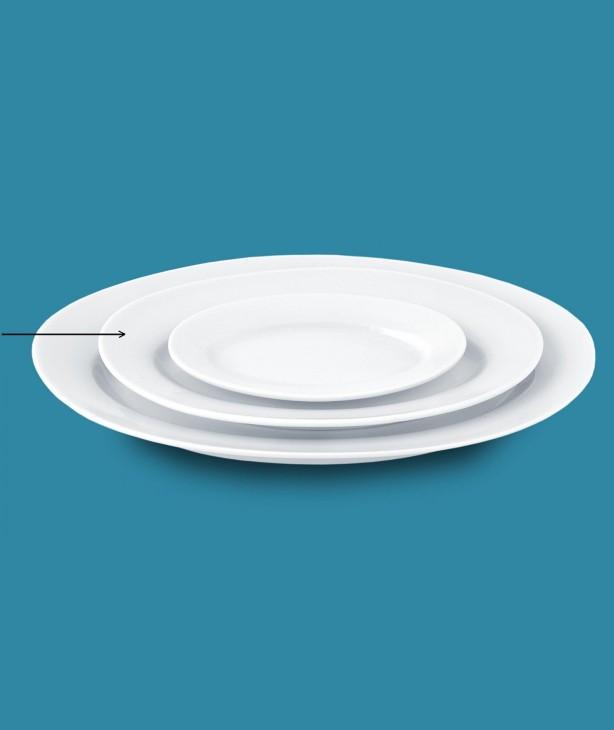 Блюдо овальное Universal, 380 мм (Прокат)