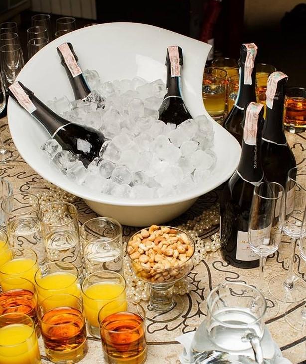 Чаша для подачи шампанского Turin 540 мм