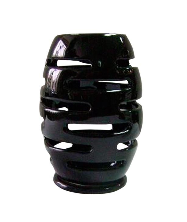 Аромалампа Эллипс 14 см, черная