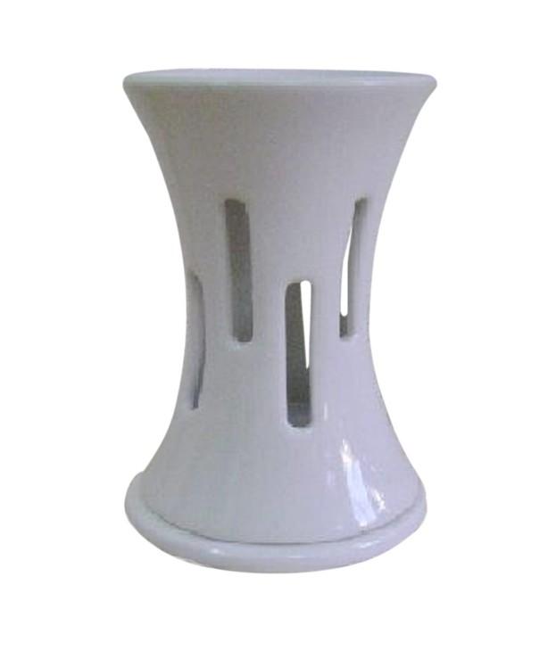 Аромалампа Элеганс 14 см, белая