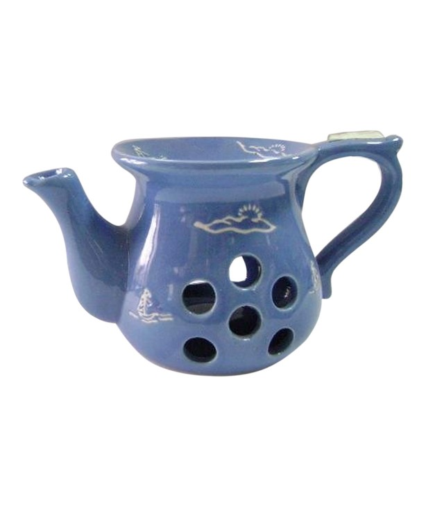 Аромалампа Чайник, синяя