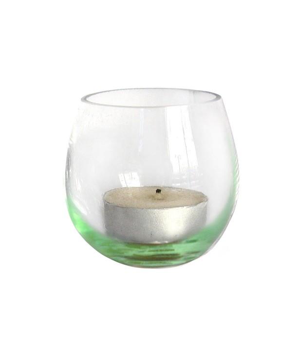 """Подсвечник """"мыльные пузыри"""" зеленый"""