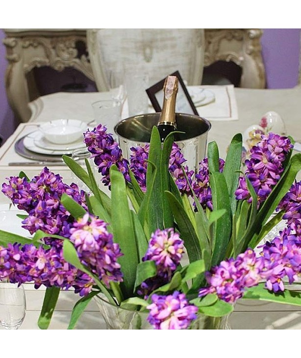 Гиацинт 38 см, пурпурный