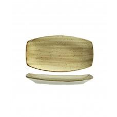Блюдо прямоугольное без борта 160*96 мм Corendon Beige