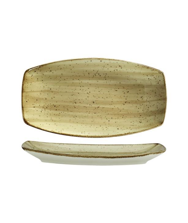 Блюдо прямоугольное без борта 270*160 мм Corendon Beige