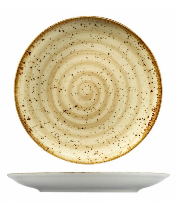 Тарелка для основного блюда без борта 250 мм Corendon Beige
