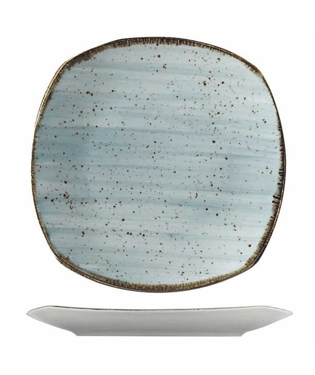 Тарелка плоская 250 мм Corendon синяя