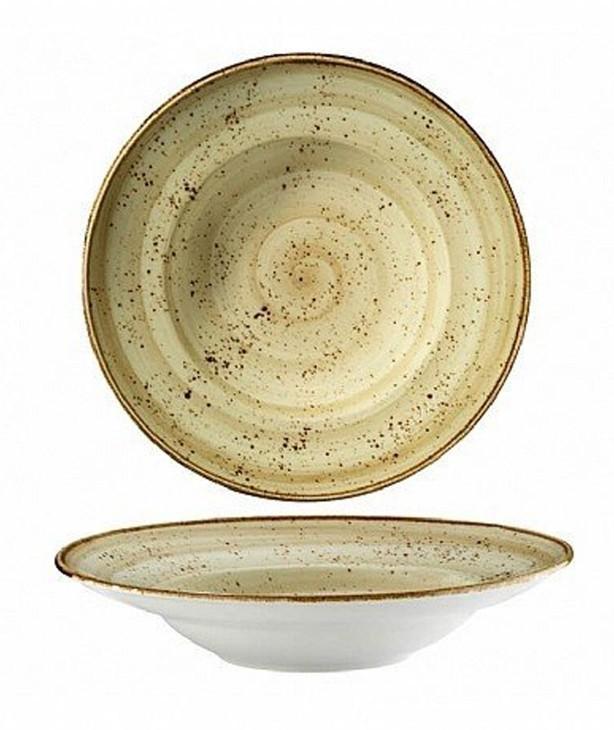 Тарелка для спагетти 270 мм Corendon Beige