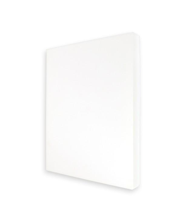 Доска разделочная 450*300*40 мм, белая