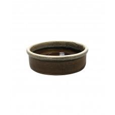 Круглое блюдо с декоративным бортом 105 мм