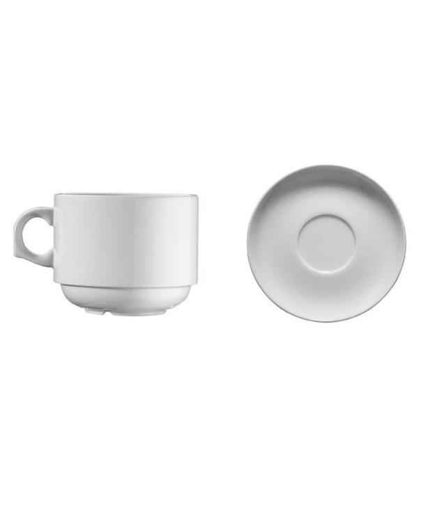 Чашка кофейная 100 мл с блюдцем Ent