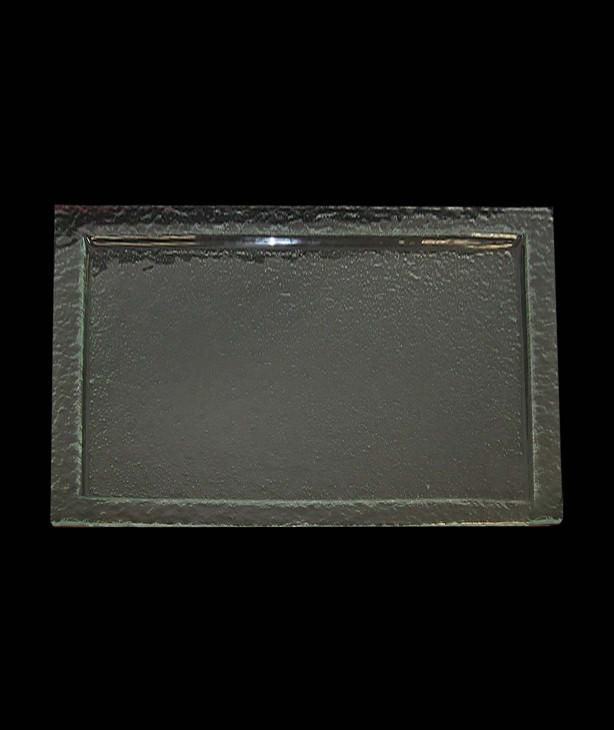 Блюдо прямоугольное 600*400 мм, прозрачное стекло Gobi (Прокат)