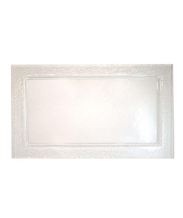 Блюдо прямоугольное 600*400 мм, прозрачное стекло Gobi