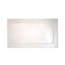 Блюдо прямоугольное 650*530 мм, прозрачное стекло Gobi (Прокат)