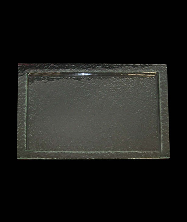 Блюдо прямоугольное 530*325 мм, прозрачное стекло Gobi