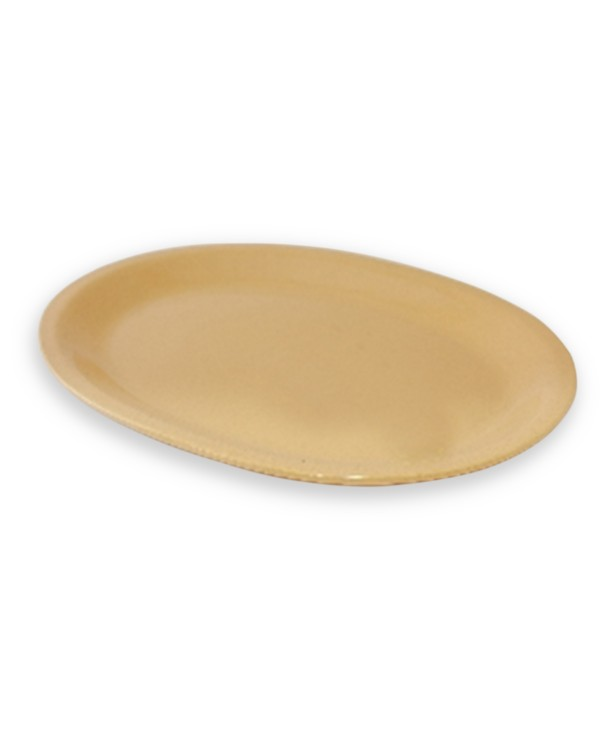 Блюдо овальное 291*221 мм, песок (Прокат)