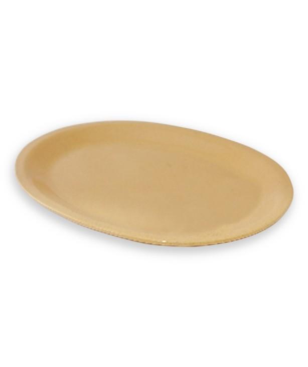 Блюдо овальное 340*267 мм, песок