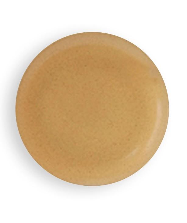 Тарелка плоская 160 мм, песок (Прокат)