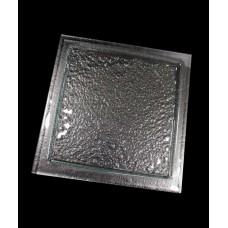 Блюдо квадратное для презентации 295*295 мм, прозрачное стекло Linea (Прокат)