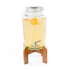 Лимонадница 7,5 л с краном на подставке (Прокат)