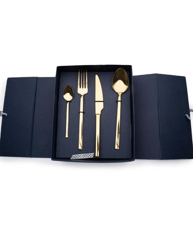 Набор столовых приборов на 6 персон Lite gold
