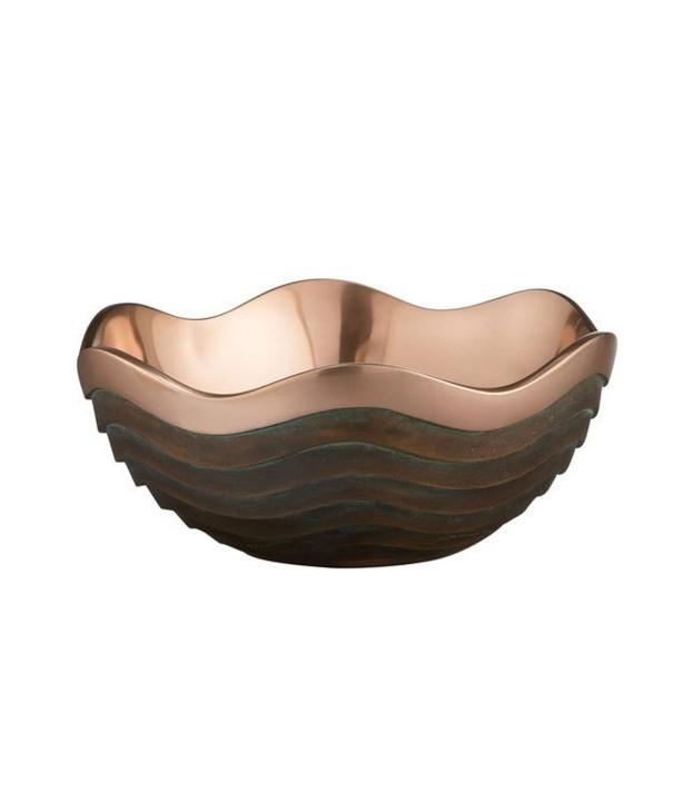 Чаша медная Каньйон 25 см