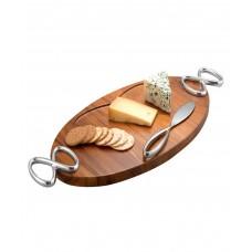 Доска сырная деревянная Infinity с ножом, дизайн Wey Young