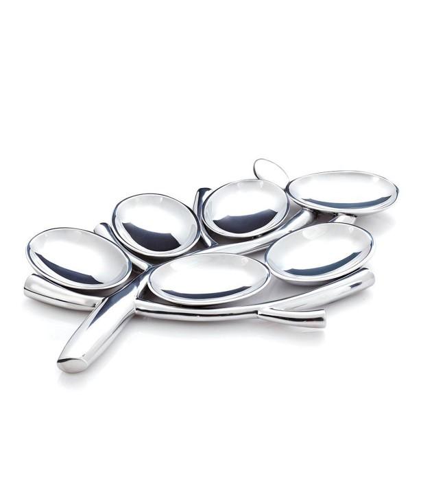 Блюдо секционное Менора Древо жизни, дизайн Marilyn Davidson