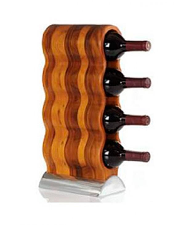 Подставка для бутылок деревянная (на 4 бутылки)