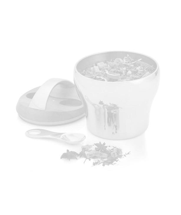 Ёмкость для хранения чая с акцентной ложкой, дизайн Lou Henry