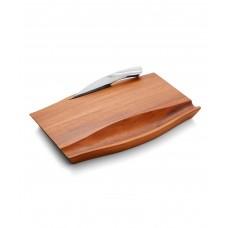 Доска сырная деревянная Drift с ножом, дизайн Wey Young