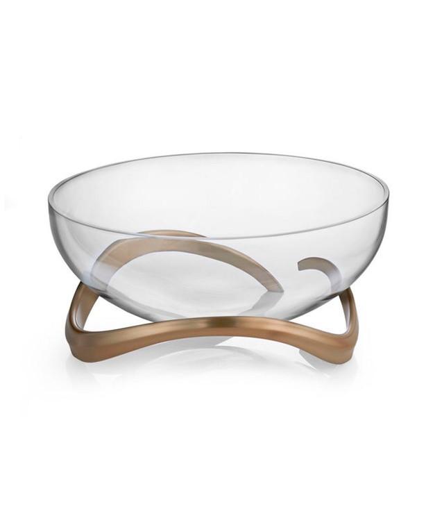 Акцентная чаша Eco, стекло, дизайн Neil Cohen