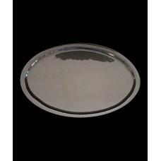 Блюдо овальное для презентации 345*220 мм, дымчатое стекло Orb (Прокат)
