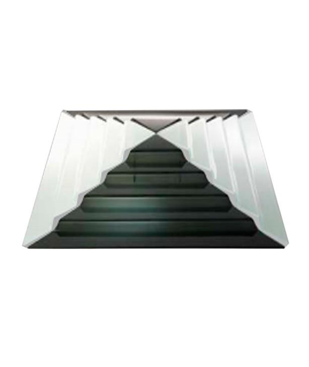 Блюдо для презентации черное стекло Пирамида