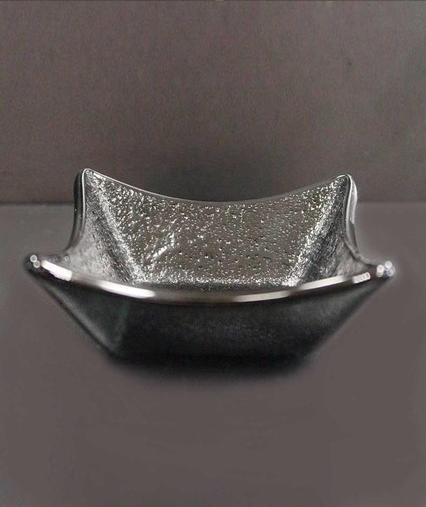 Емкость для закусок и соусов, стекло черное Ridde (Прокат)
